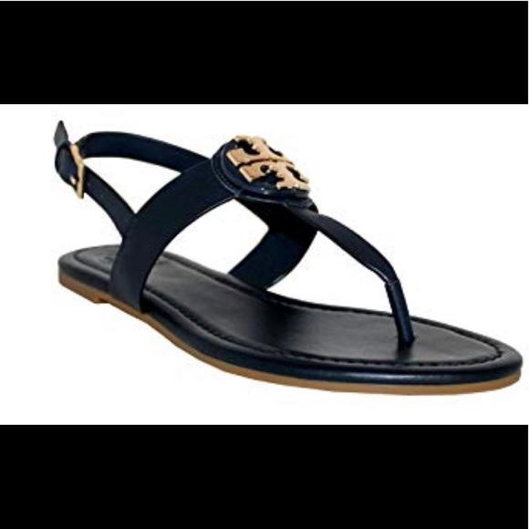 63470b424641b Tory Burch Bryce Black leather thong sandals -6.5.  M 5bfb84eaa31c33a230fd5dc4